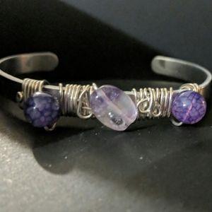 Jewelry - Amethyst Gemstone Bracelet
